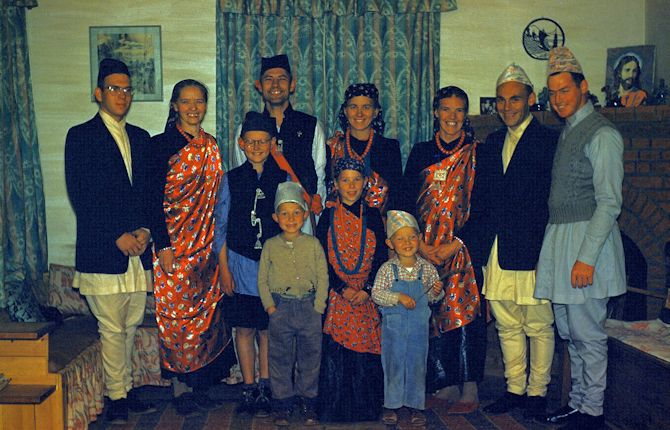 Missionaries in Tansen, Nepal